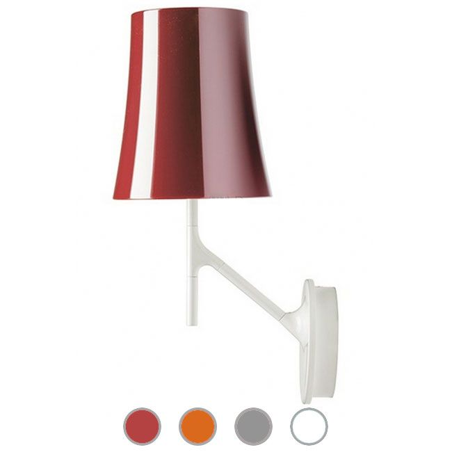 Foscarini Lámpara de pared Birdie 1 luz E27 H 42 cm Regulable