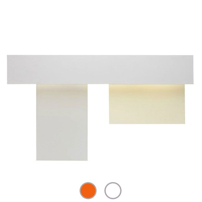 Foscarini Lámpara de pared Fields 3 - 1 luz G5 An.95 cm