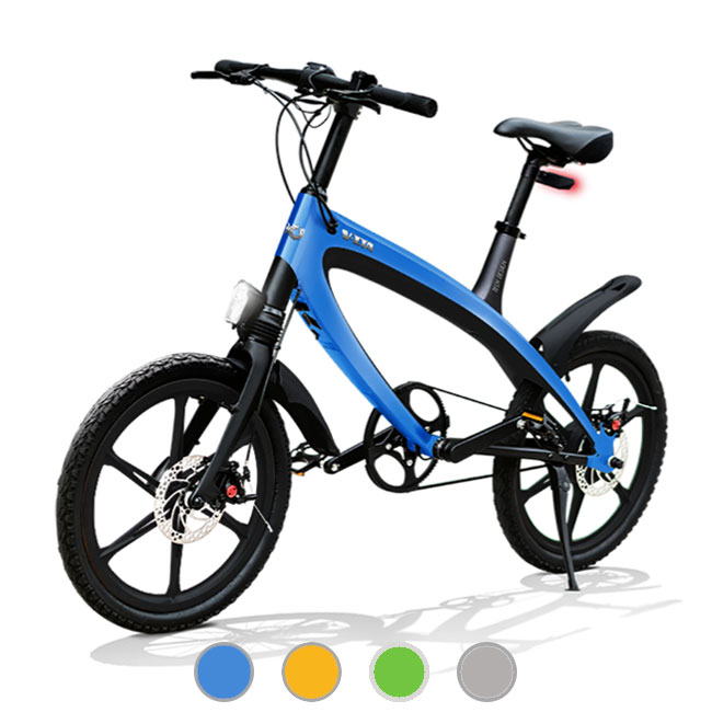 E-City Bike V-ITA Evolution Masterpieces con tecnologia bluetooth
