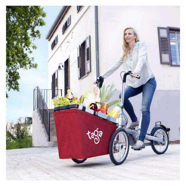 City Bike Taga 1.0 con cesta