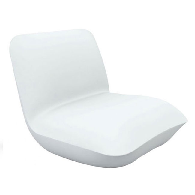 Vondom Sillón brillante Smart inalámbrico LED RGBW en la batería Pillow L 82 cm
