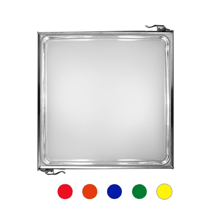 Ai Lati Lights Lámpara de pared/techo Box Plaza IP43 L 27 cm