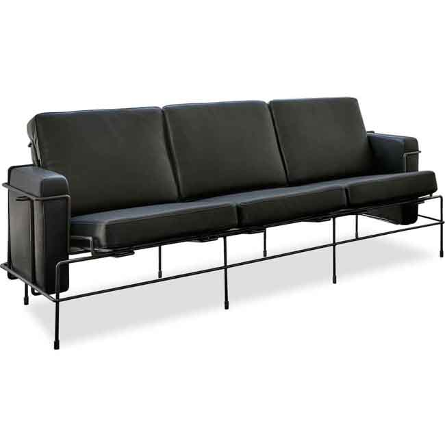 Magis Sofa 3 plazas Traffic L 186cm Estructura blanco
