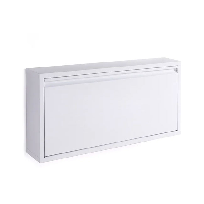 Tomasucci Zapatero de pared Terry L 75 cm