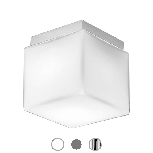 Ai Lati Lights Lámpara de techo Dado Magneto 2 Luces E27 IP40 L 20 cm