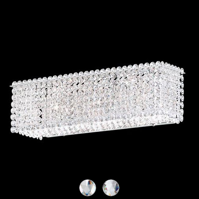 Swarovski Schonbek lámpara de pared Matrix L 44 cm 3 luci