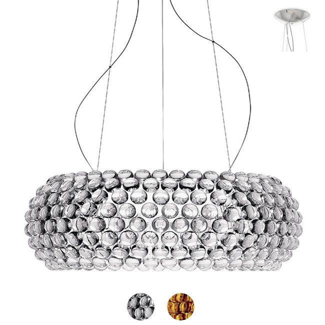 Foscarini Lámpara colgante Caboche Grande LED 46W Ø 70 cm Regulable