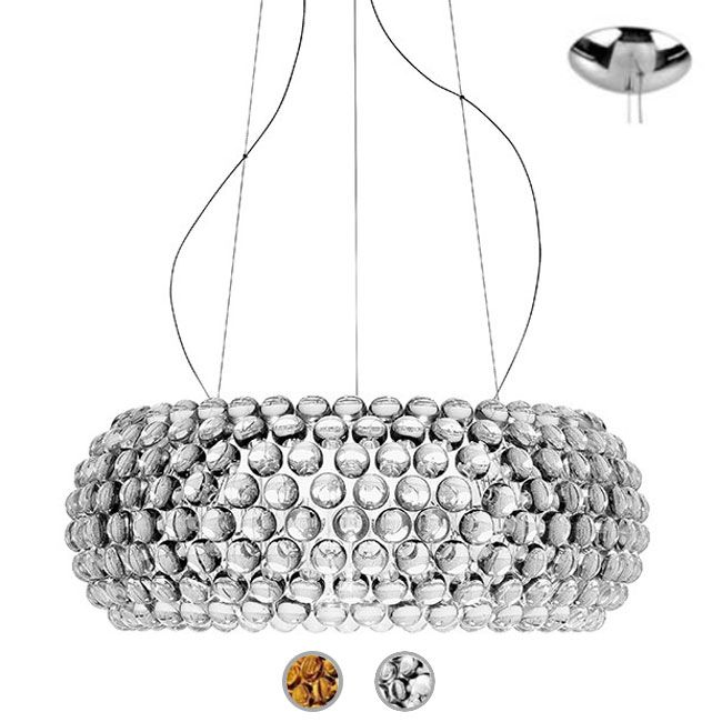 Caboche Foscarini Lámpara colgante Media LED 35W Ø 50 cm
