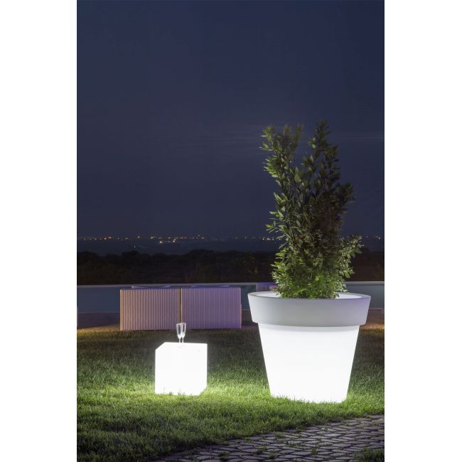 Monacis Vaso Luminoso GEMMA BRIGHT  LED MULTICOLOR CON CAVO Ø 80 CM