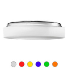 Ai Lati Lights Lámpara de pared/techo Drum IP44