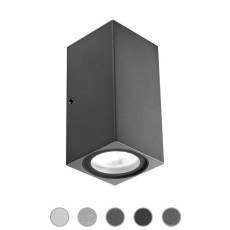 Ares Lámpara de pared Delta LED H 10 cm IP65 Outdoor para exterior y jardin
