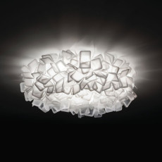 Slamp Clizia Large lámpara de pared / techo Ø 78 cm H 25 cm FLUO-Bianco