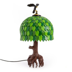 Seletti  Lámpara de mesa Tiffany Tree Lamp LED H 73 cm regulable
