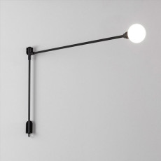 Nemo lámpara de pared Mini Potence Pivotante 1 luce G9 QT-14 L 100 cm regulable