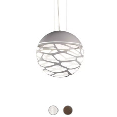 Studio Italia Design Lámpara colgante Kelly Sphere 3 luces E27 Ø 40 cm