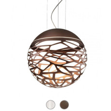 Studio Italia Design Lámpara colgante Kelly Sphere 3 luces E27 Ø 50 cm