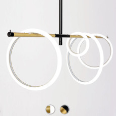 Marchetti Lampara de suspension Ulaop LED 46W L 120 cm