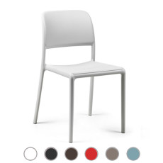 Nardi silla  Riva Bistrot L 49 cm apilable Outdoor para exterior y jardin