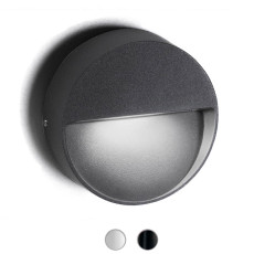 Ai Lati Lampara de pared Bottom LED 4,5W IP54 Ø 10 cm Outdoor para Exterior y Jardin