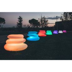 Monacis Vaso Luminoso EDEN BRIGHT    LED MULTICOLOR CON BATTERIA L 75 CM