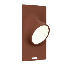 Artemide Outdoor Ciclope lámpara de pared empotrada LED LED 6,5W H 27 cm IP65 Ruggine para exterior y jardin