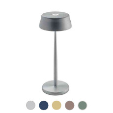 Ai Lati Light Lámpara de mesa recargable Sister Light 3W H 32.8 cm Regulable Para uso interior y exterior.