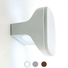 Luceplan Lámpara de pared / techo Sky 2 Luces E14 IP65 L 20 cm Outdoor para exterior y jardin