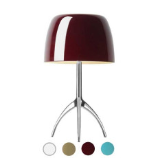 Foscarini Lámpara de mesa Lumiere 1 luz G9 H 35 cm On/off