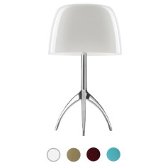 Foscarini Lámpara de mesa Lumiere 2 Luces G9 H 45 cm On/Off