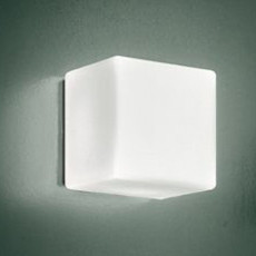 Leucos Lámpara de pared/techo Cubi 11 LED 6,4W L 11 cm