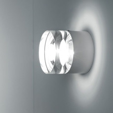 Sillux Apliques de pared O-Optikal Ø 9 cm 1 Luz 20W