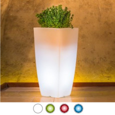 Monacis Vaso Luminoso STILO SQUARE BRIGHT H 70 CM
