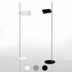 Danese Milano Lámpara de pie Two Flags LED 35,5W H 183 cm