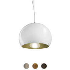 Vistosi Surface Suspensión Ø 27 cm 1 Luz E27 / LED