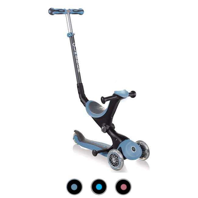 Scooter Bike sin pedales Triciclo 3 ruedas Globber GO•UP Deluxe