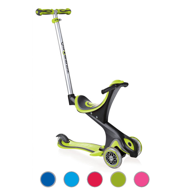 Scooter Bike sin pedales Triciclo 3 Ruedas Globber GO•UP Comfort