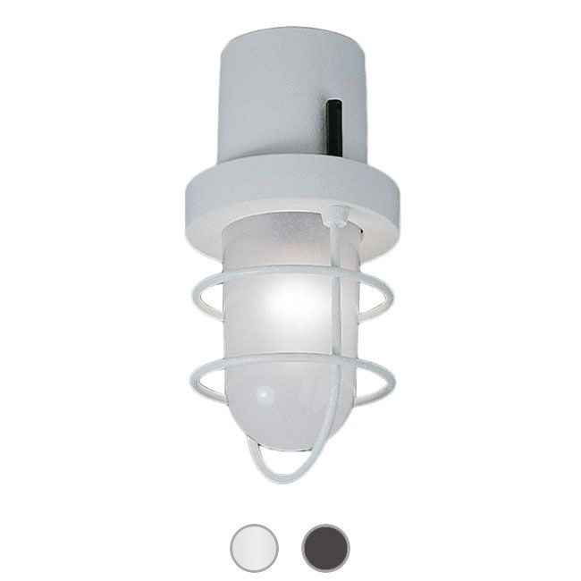 Martinelli Luce Polo Lámpara de techo Ø 13 cm 1 x 15W E27 LED IP54 Outdoor para exterior y jardin