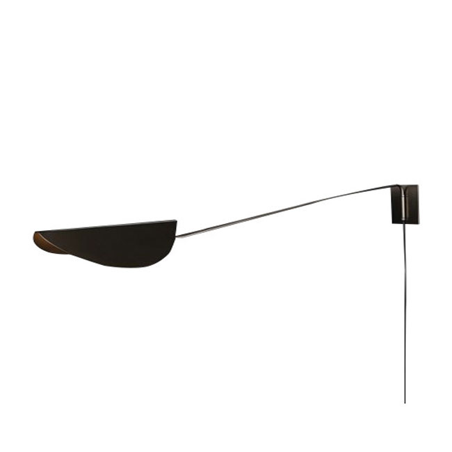 Oluce Lampara de pared Plum LED E27 L 160 cm