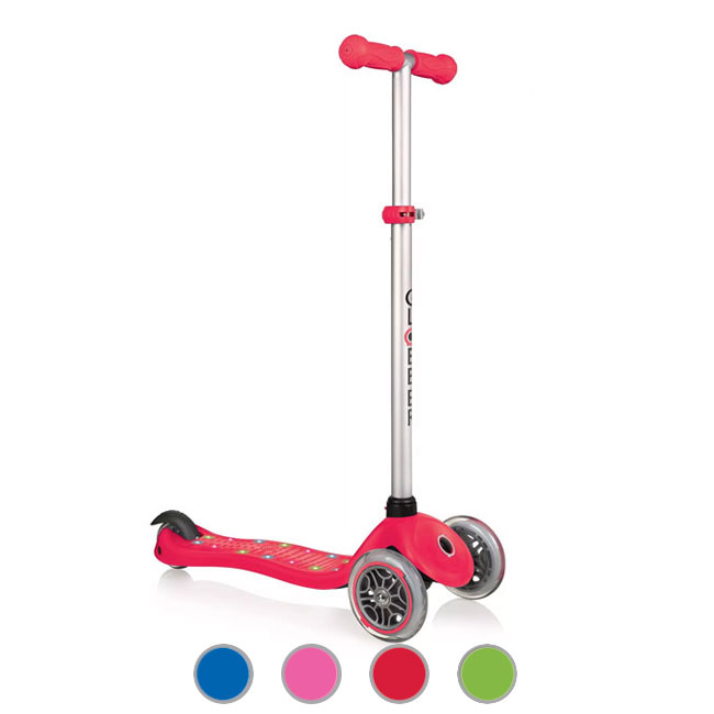 Scooter Led de 3 ruedas Globber Primo Starlight