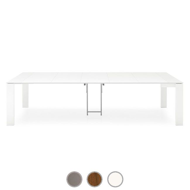 Connubia by Calligaris Mesa extensible Sigma Consolle L max 300 cm