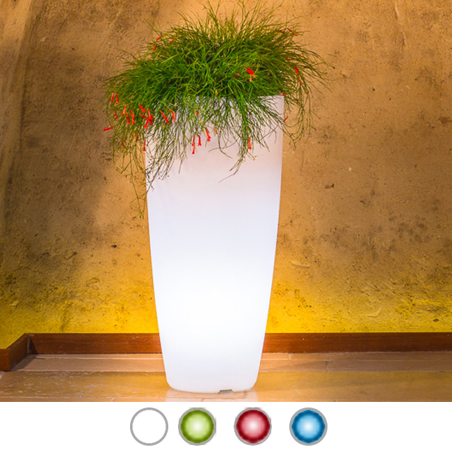 Monacis Vaso Luminoso STILO ROUND TOP BRIGHT H 90 CM