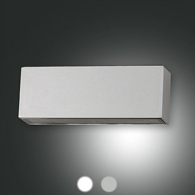 Fabas OUTDOOR Lámpara de pared Trigg LED 14W L 18 x 6,5 cm IP54 para exterior y jardin